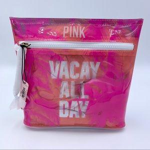 Pink Victoria Secret Make-Up Bag